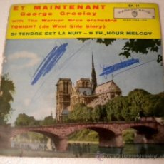 Discos de vinilo: GEORGE GREELEY - ET MAINTENANT - WARNER BROS - 1.962. Lote 39410759