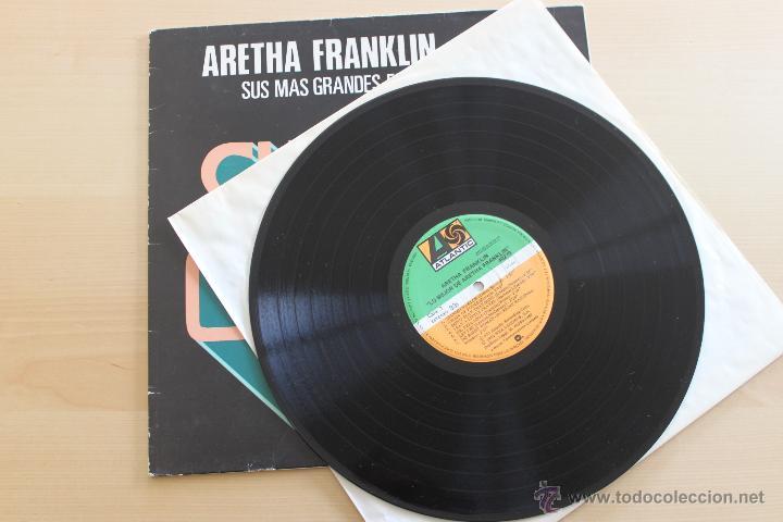 Discos de vinilo: ARETHA FRANKLIN - SUPER SOUL - SUS MAS GRANDES EXITOS - Foto 2 - 39402193
