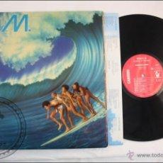 Discos de vinilo: BONEY M - OCEANS OF FANTASY - CARRERE - 1979 - FABRICADO EN FRANCIA - TAPA DOBLE - INCLUYE POSTER. Lote 39412967