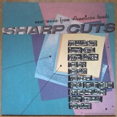 Discos de vinilo: VA -SHARP CUTS (NEW WAVE FROM AMERICAN BANDS) -LP 1980 ALLEYCATS, THE DB´S, THE FAST O SUBURBAN LAWN. Lote 39413726