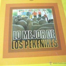 Discos de vinilo: LP-VINILO-LO MEJOR DE LOS PEKENIKES-HISPAVOX-1973-13 CANCIONES-COMO NUEVO--.. Lote 39414101