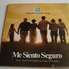 Discos de vinilo: MOCEDADES ··· ME SIENTO SEGURO (SINGLE 45 RPM) VER FOTOS. Lote 39415541