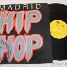 Discos de vinilo: MADRID - HIP HOP - TROYA RECORDS - 1989 - FABRICADO EN ESPAÑA. Lote 39415942