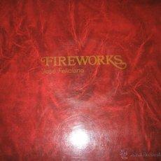 Discos de vinilo: ANTIGUO LP-VINILO-JOSÉ FELICIANO-FIREWORKS-1970-RCA-PERFECTO-.. Lote 39418371