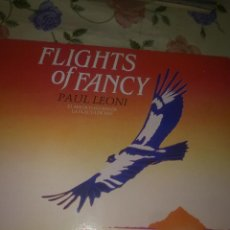 Discos de vinilo: FLIGHTS OF FANCY PAUL LEONI EL MAGICO SONIDO DE LA FLAUTA DE PAN C2V. Lote 39421020