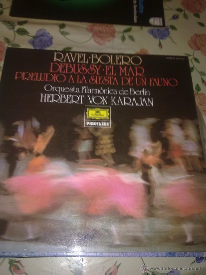 RAVEL. BOLERO DEBUSSY. EL MAR. PRELUDIO A LA SIESTA DE UN FAUNO. C5V (Música - Discos - LP Vinilo - Otros estilos)