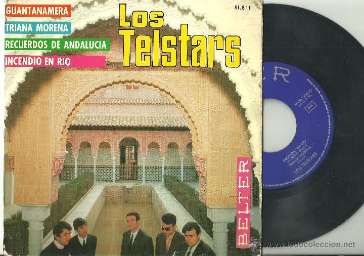 LOS TELSTARS INCENDIO EN RIO + 3 EP BELTER 1967 @ BEAT SPAIN @ (Música - Discos de Vinilo - EPs - Grupos Españoles 50 y 60)