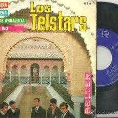 Discos de vinilo: LOS TELSTARS INCENDIO EN RIO + 3 EP BELTER 1967 @ BEAT SPAIN @. Lote 39423910