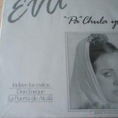 Discos de vinilo: LP-VINILO-EVA-PA CHULA YO...-1986-16 TEMAS-AVALON-FUNDA-NUEVO.. Lote 39439943