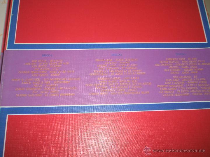 Discos de vinilo: ALBÚM-3 DISCOS-VINILO-CBS-10º ANIVERSARIO-10 AÑOS DE ÉXITOS-. - Foto 5 - 39440130