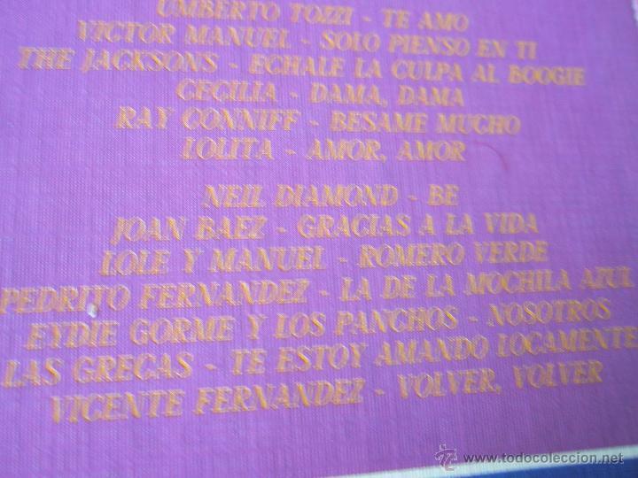 Discos de vinilo: ALBÚM-3 DISCOS-VINILO-CBS-10º ANIVERSARIO-10 AÑOS DE ÉXITOS-. - Foto 4 - 39440130