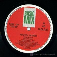 Discos de vinilo: MICKEY OLIVER - IN-TEN-SI-T - MAXI 1988. Lote 39426360