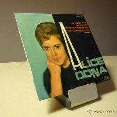 Discos de vinilo: ALICE DONA JE N'SAIS PAS +3 EP . Lote 39430301