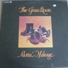 Discos de vinilo: THE GRASS ROOTS - ALOTTA' MILEAGE - LP USA DUNHILL 1973 // BLUE EYED SOUL FUNK ROCK. Lote 155023673