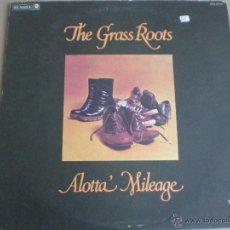 Discos de vinilo: THE GRASS ROOTS - ALOTTA' MILEAGE - LP USA DUNHILL 1973 // BLUE EYED SOUL FUNK ROCK. Lote 39430810