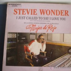 Dischi in vinile: STEVIE WONDER I JUST CALLED TO SAY I LOVE YOU. Lote 39438662