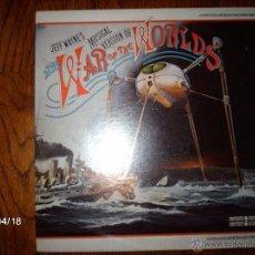 Discos de vinilo: JEFF WAYNE - THE WAR OF THE WORLDS. Lote 39446214