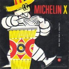 Discos de vinilo: DISCO PUBLICIDAD DE MICHELIN PNEUMATICOS - CALYPSO Y CHA CHA CHA. Lote 39446909