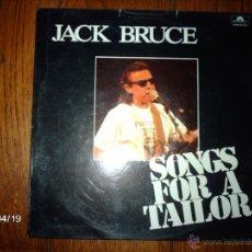 Discos de vinilo: JACK BRUCE - SONGS FOR A TAILOR . Lote 39480921