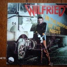 Discos de vinilo: WILFRIED - IN THE MIDDLE OF THE NIGHT + FIREWALK. Lote 39481135