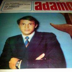 Discos de vinilo: EG8//ADAMO//1966. Lote 39443810