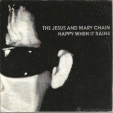 Discos de vinilo: SINGLE PROMO THE JESUS AND MARY CHAIN ( RARA PORTADA EN BLANCO Y NEGRO) . Lote 39452340