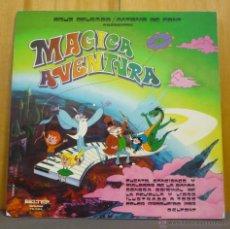 Discos de vinilo: MÁGICA AVENTURA DE CRUZ DELGADO Y ANTONIO DE FONT - CONTIENE LIBRETO - LP BELTER 1970 - LC25. Lote 46598424