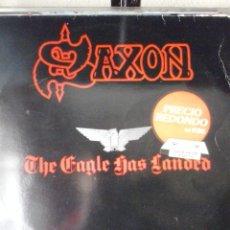 Discos de vinilo: SAXON-THE EAGLE HAS LANDED. Lote 39458830