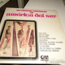 Discos de vinilo: TRÍO SUDAMERICANO.. LAS MEJORES CANCIONES DE AMÉRICA DEL SUR BAL-8-10. Lote 218391353