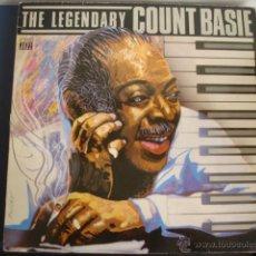 Discos de vinilo: COUNT BASIE THE LEGENDARY COUNT BASIE. Lote 39476278