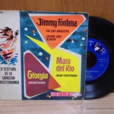Discos de vinilo: 3 FESTIVAL CANCION MEDITERRANEA 1961. Lote 39488250
