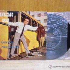Discos de vinilo: GIANNI MARZOCCHI,SEMPRE CON TE DEL AÑO 1959 EDICION ESPAÑOLA. Lote 39488362