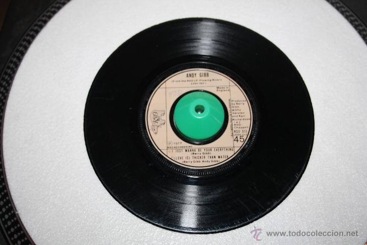 ANDY GIBB - AN EVERLASTING LOVE / I JUST WANNA BE YOUR EVERYTHING - RSO - 1977 (Música - Discos - Singles Vinilo - Pop - Rock - Extranjero de los 70)