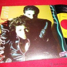Discos de vinilo: OSCAR Y MARLO AFRICA 7 SINGLE UNA CARA 1988 EPIC PROMO. Lote 39491801