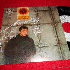 Discos de vinilo: MATIAS AVALOS MUCHACHO LISTO/ DIARIO DE UN HOMBRE OCUPADO 7 SINGLE 1989 DMM PROMO. Lote 39492120