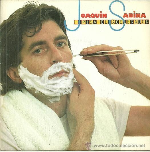 JOAQUIN SABINA SINGLE SELLO EPIC AÑO 1983 (SOLO UNA CARA) (Música - Discos - Singles Vinilo - Solistas Españoles de los 70 a la actualidad)