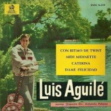 Discos de vinilo: LUIS AGUILE EP SELLO ODEON AÑO 1963. Lote 39492948
