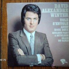Discos de vinilo: DAVID ALEXANDRE WINTER - VOLE S´ENVOLE + 3. Lote 39504123
