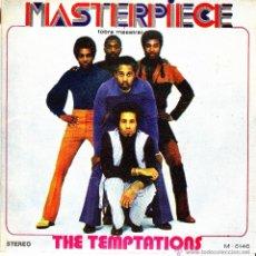 Discos de vinilo: THE TEMPTATIONS-MASTERPIECE SINGLE VINILO 1973 SPAIN. Lote 93246082