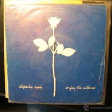 Discos de vinilo - DEPECHE MODE. ENJOY THE SILENCE. MUTE RECORDS 1990. DISCO PROMOCIONAL - 39509039