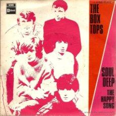Vinyl-Schallplatten - SG THE BOX TOPS : SOUL DEEP - 39510222