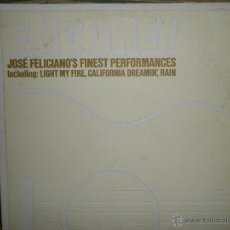 Discos de vinilo: JOSE FELICIANO - ENCORE LP - ORIGINAL U.S.A. - RCA RECORDS 1971 - PORTADA TROQUELADA -. Lote 39511247
