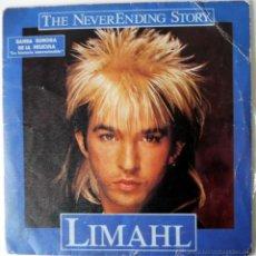 Discos de vinilo: SINGLE VINILO ANTIGUO VINTAGE 1984 BSO LA HISTORIA INTERMINABLE LIMAHL BSO PELICULA. Lote 39527106
