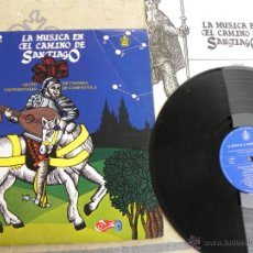 Discos de vinilo: LA MUSICA DEL CAMINO DE SANTIAGO -LP 1981. Lote 39529245
