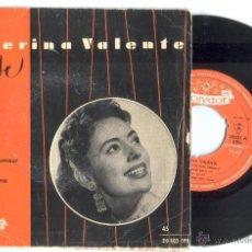 Disques de vinyle: 1 DISCO EP DE ** CATERINA VALENTE ** ** CHANSON D'AMOUR ** Y TRES MAS - AÑO 1958. Lote 39532976