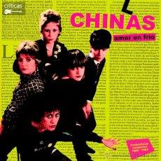 Discos de vinilo: LAS CHINAS AMOR EN FRIO MOVIDA PUNK VINILO. Lote 173058784