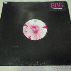 Discos de vinilo: BBG ( SNAPPINESS 3 VERSIONES ) ENGLAND - 1990 MAXI45 POLYDOR. Lote 39554444