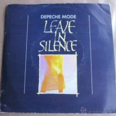 Discos de vinilo: DEPECHE MODE - LEAVE IN SILENCE.. Lote 39556727