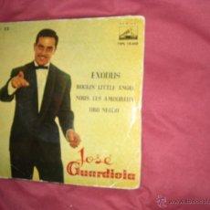 Discos de vinilo: JOSE GUARDIOLA EP EXODUS VER FOTO ADICIONAL. Lote 39558058