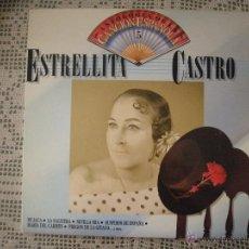 Discos de vinilo: ESTRELLITA CASTRO, ANTOLOGÍA DE LA CANCIÓN ESPAÑOLA.. Lote 39558409
